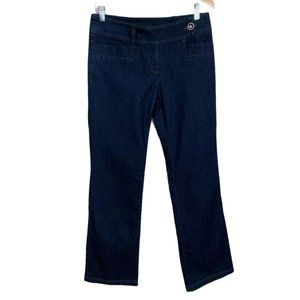 Focus 2000 Jeans Dark Wash Straight Leg Tabbed 4